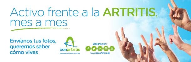 artritis, reumatoide, ConArtritis, Coordinadora Nacional de Artritis, reumatología, psoriásica, idiopática juvenil, reuma, ONG, discapacidad