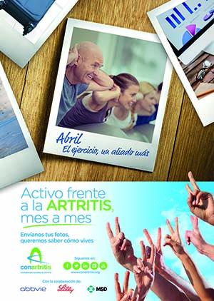 ConArtritis, artritis, ActivoAR, Coordinadora Nacional de Artritis, cronico, asociación, enfermo, paciente, ejercicio, reumatoide, deporte,