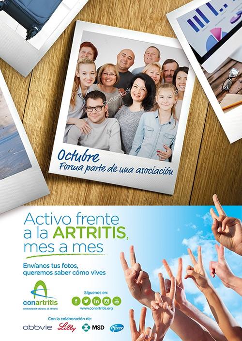 artritis, ConArtritis, reumatoide, asociación, ActivoAR, reumatología, reuma, artrosis, psoriásica, autoinmune, paciente,