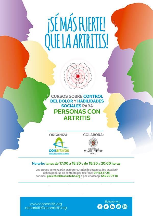artritis, ConArtritis, psicología, asociación, dolor, reumatoide, psoriásica, reumatología