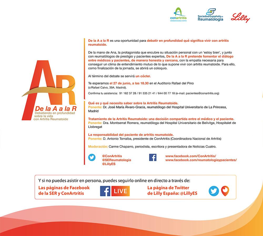 artritis, reumatoide, reumatología, reuma, ConArtritis, reumatólogo, asociación, autoinmune, biológico.
