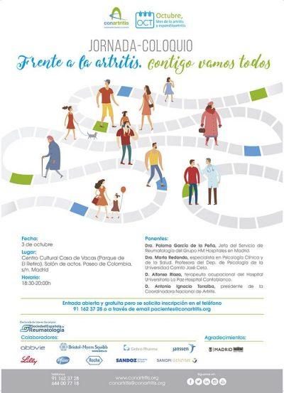 artritis, OctAR17, reumatoide, ConArtritis, asociación, reumatología, SER, reuma, paciente, arthritis, reumatoide, psoriásica, espondiloartritis