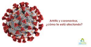 Cuestionario sobre cómo el coronavirus está afectando a las personas con artritis