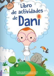 Libro actividades DANI para niños con artritis idiopática juvenil