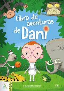 Libro de aventuras DANI para niños con artritis idiopática juvenil